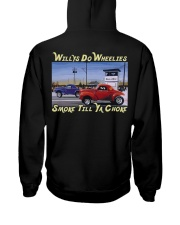 Willys Coupe Gasser Custom Drag Racing T Shirt Hooded Sweatshirt tile