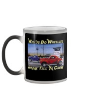 Willys Coupe Gasser Custom Drag Racing T Shirt Color Changing Mug color-changing-left