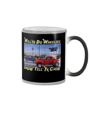 Willys Coupe Gasser Custom Drag Racing T Shirt Color Changing Mug color-changing-right
