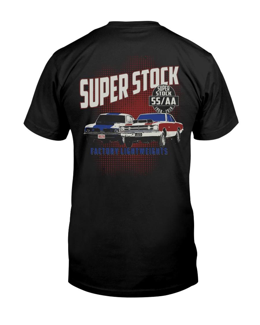1968 Hemi Super Stock Drag Racing Premium Fit Mens Tee
