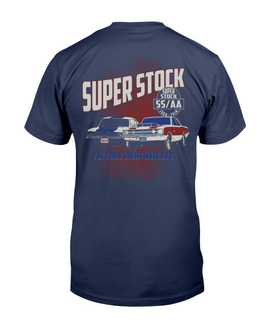 1968 Hemi Super Stock Drag Racing Premium Fit Mens Tee showcase