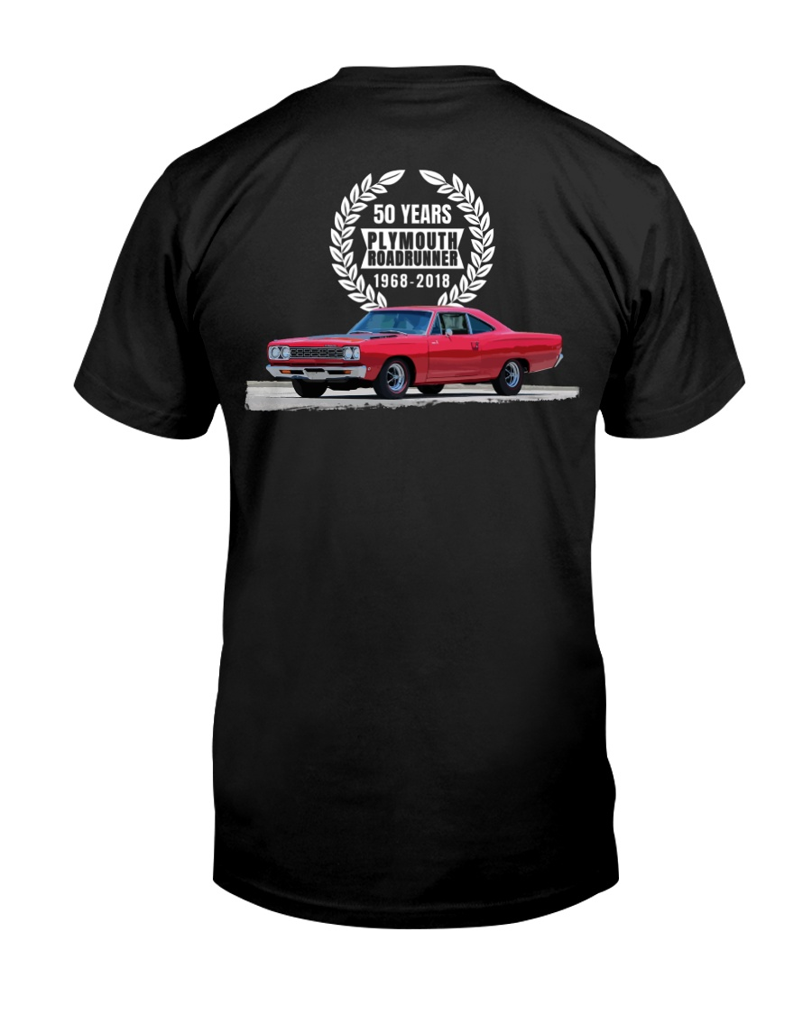 1968 Plymouth Roadrunner 50 Year Celebration Premium Fit Mens Tee