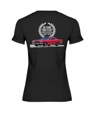 1968 Plymouth Roadrunner 50 Year Celebration Premium Fit Ladies Tee thumbnail