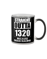 Straight Outta 1320 Funny Drag Racing T Shirts Color Changing Mug thumbnail