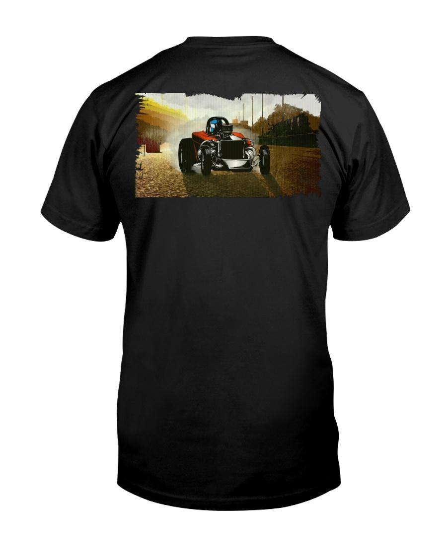Nostalgia Fuel Altered Drag Racing T Shirt Premium Fit Mens Tee
