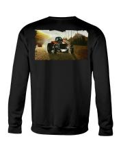 Nostalgia Fuel Altered Drag Racing T Shirt Crewneck Sweatshirt thumbnail