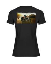 Nostalgia Fuel Altered Drag Racing T Shirt Premium Fit Ladies Tee thumbnail