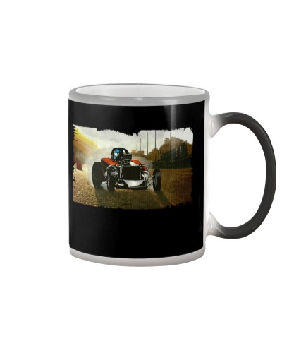 Nostalgia Fuel Altered Drag Racing T Shirt