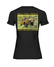 Nostalgia Drag Racing Classic Hot Rod Gassers Tee Premium Fit Ladies Tee thumbnail