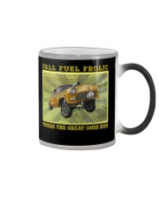 Nostalgia Drag Racing Classic Hot Rod Gassers Tee Color Changing Mug thumbnail
