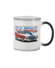 Nostalgia Pro Stock Outlaw Vintage Drag Racing Tee Color Changing Mug thumbnail