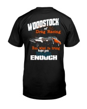The Woodstock of Drag Racing 1965 Premium Fit Mens Tee back