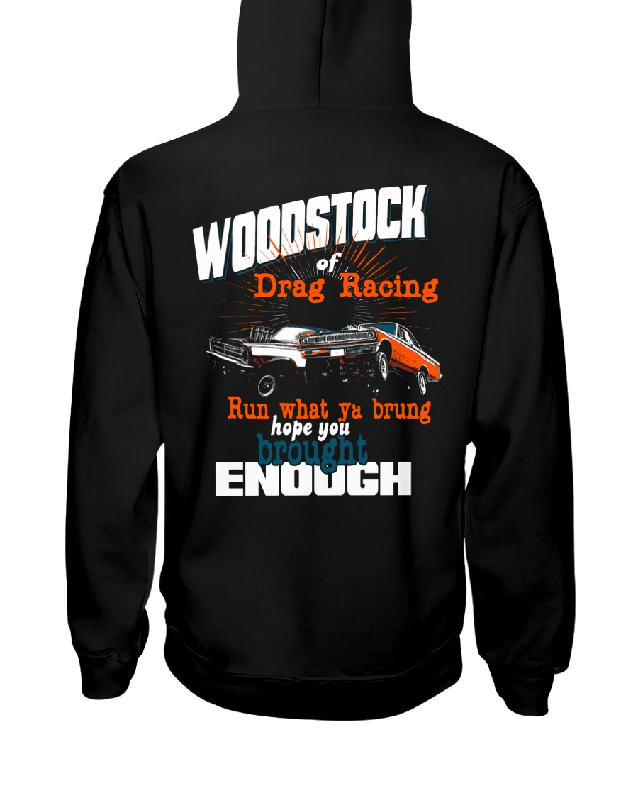 The Woodstock of Drag Racing 1965 Hooded Sweatshirt
