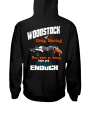 The Woodstock of Drag Racing 1965 Hooded Sweatshirt back