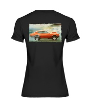 Ford Maverick Grabber Super - Pro Stock Eliminator Premium Fit Ladies Tee thumbnail