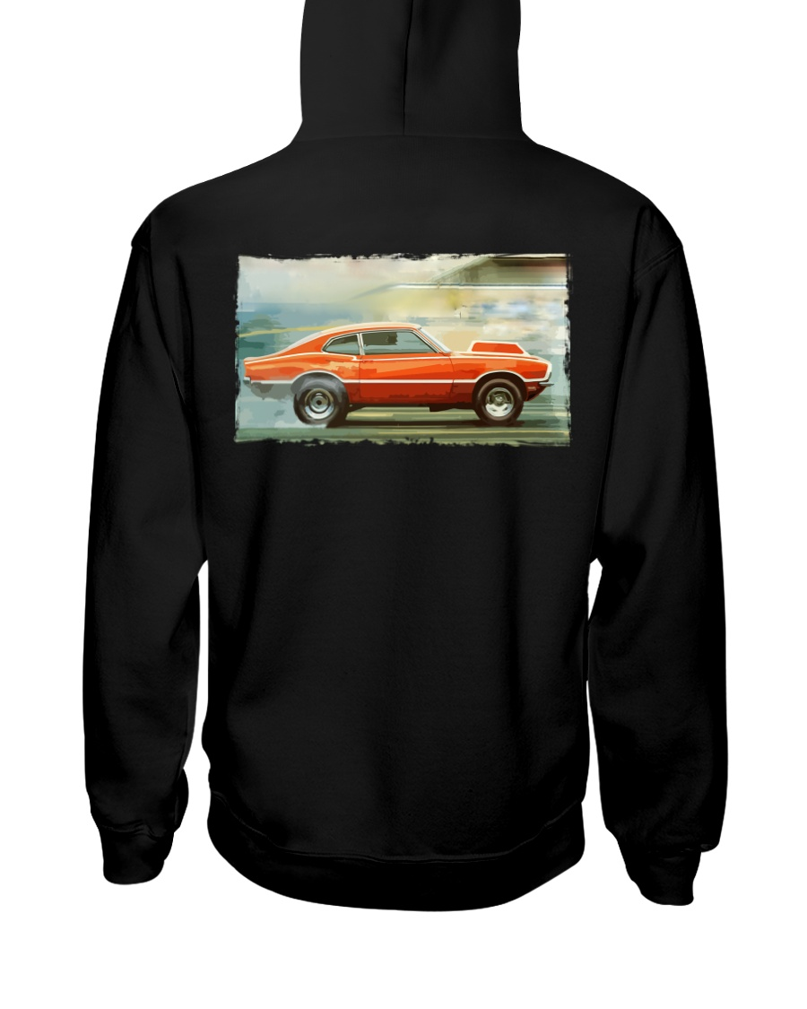 Ford Maverick Grabber Super - Pro Stock Eliminator Hooded Sweatshirt