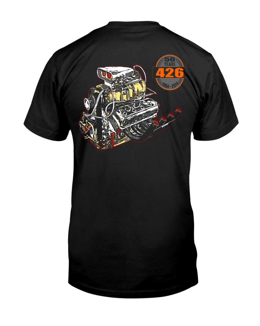 426 Hemi 1964 - 2014 Dragster or Pro Street Premium Fit Mens Tee