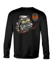 426 Hemi 1964 - 2014 Dragster or Pro Street Crewneck Sweatshirt back