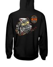 426 Hemi 1964 - 2014 Dragster or Pro Street Hooded Sweatshirt back