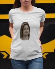 brad visage pitt Ladies T-Shirt apparel-ladies-t-shirt-lifestyle-04
