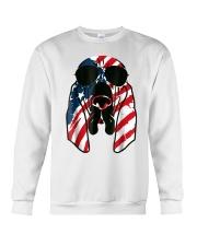 Bloodhound American Flag Pattern T Shirt Women Men Crewneck Sweatshirt thumbnail