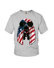 Bloodhound American Flag Pattern T Shirt Women Men Youth T-Shirt thumbnail