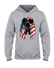 Bloodhound American Flag Pattern T Shirt Women Men Hooded Sweatshirt thumbnail