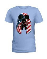 Bloodhound American Flag Pattern T Shirt Women Men Ladies T-Shirt thumbnail