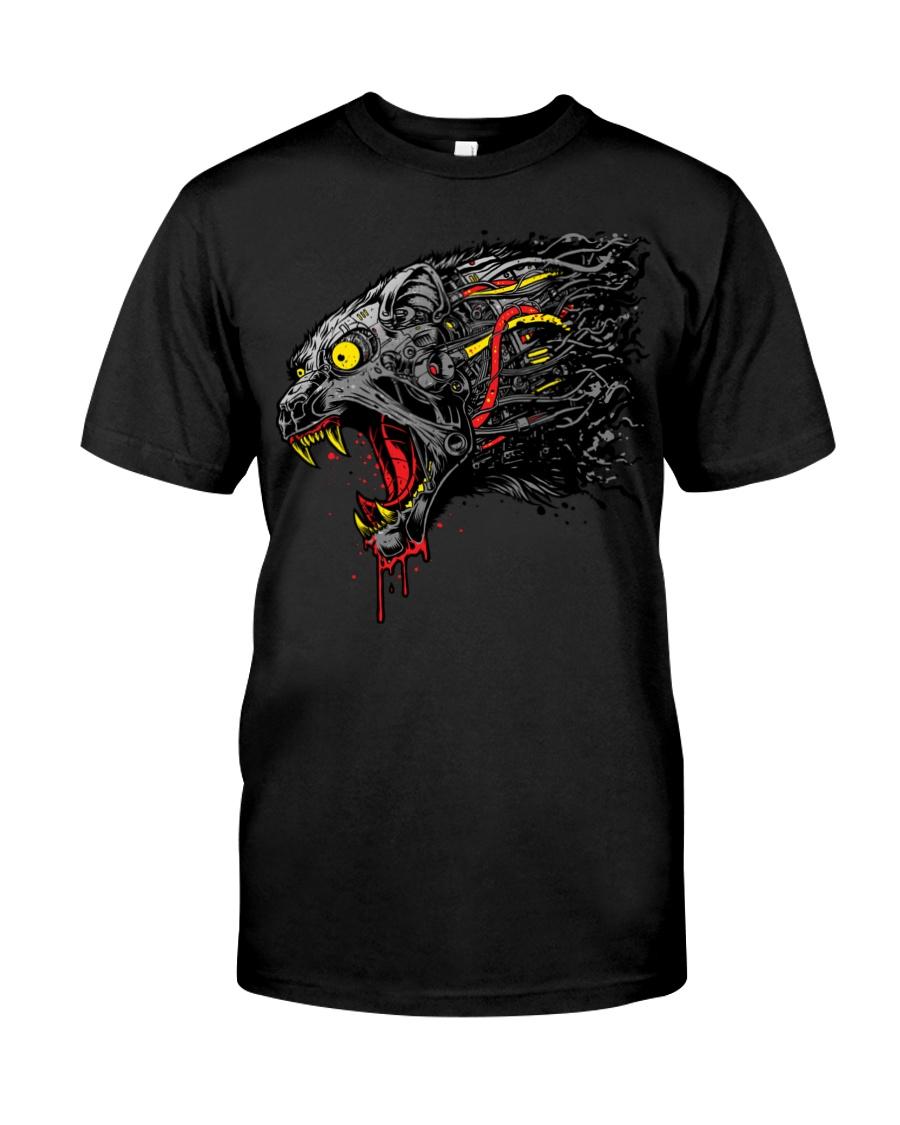 cyber panther T shirt Classic T-Shirt