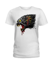 cyber panther T shirt Ladies T-Shirt thumbnail