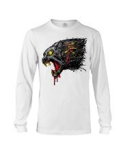cyber panther T shirt Long Sleeve Tee thumbnail