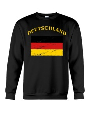 Deutschland Germany German Flag Soccer Gift Funny  Crewneck Sweatshirt thumbnail