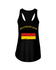 Deutschland Germany German Flag Soccer Gift Funny  Ladies Flowy Tank thumbnail
