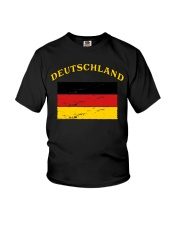 Deutschland Germany German Flag Soccer Gift Funny  Youth T-Shirt thumbnail