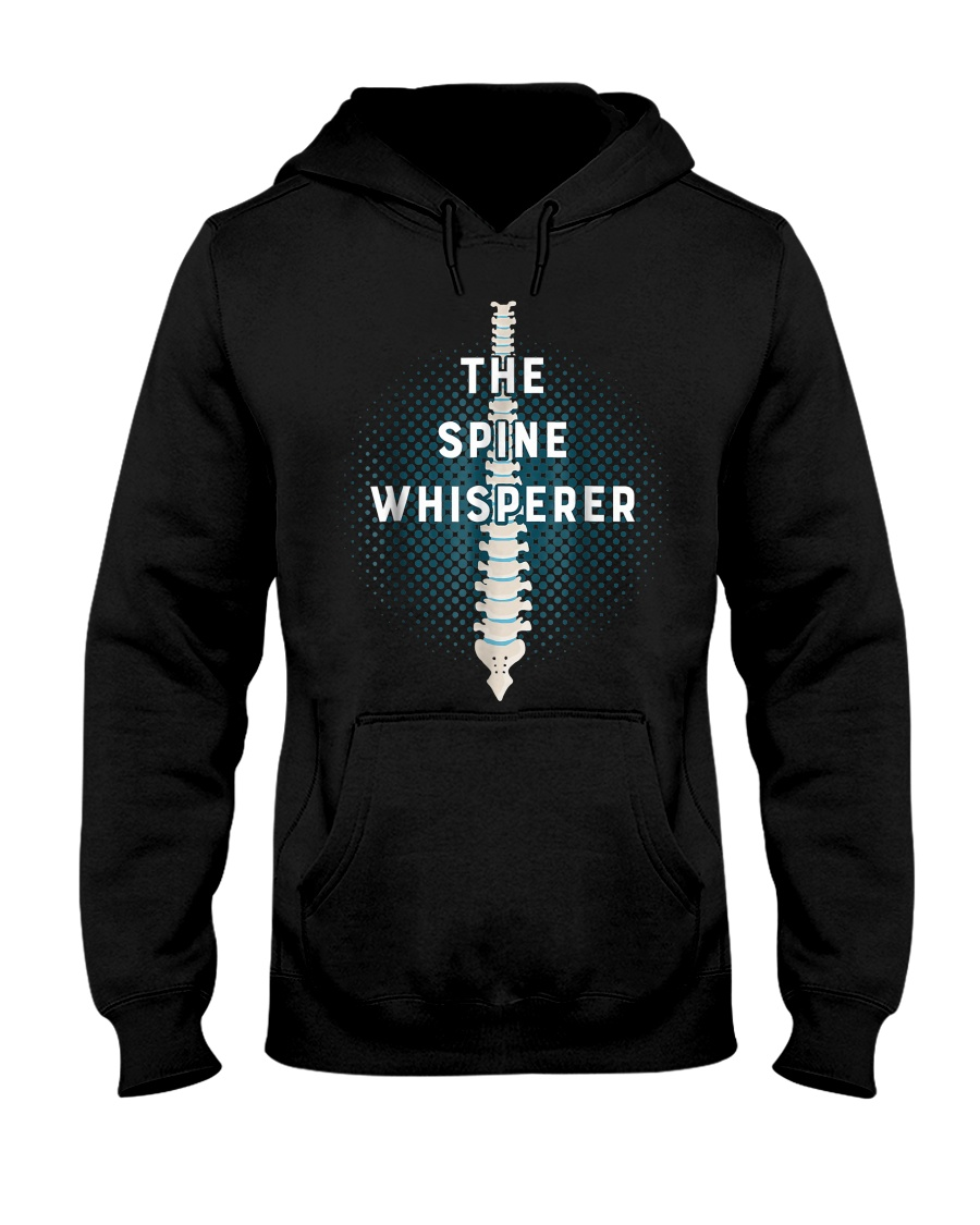 Chiropractic Spine Whisperer Funny Chiropractor Ts Hooded Sweatshirt