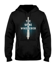 Chiropractic Spine Whisperer Funny Chiropractor Ts Hooded Sweatshirt front