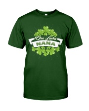 ONE LUCKY NANA IRISH Classic T-Shirt front