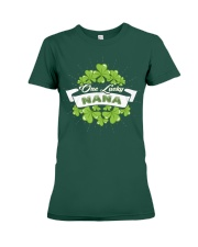 ONE LUCKY NANA IRISH Premium Fit Ladies Tee thumbnail