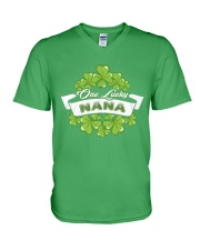 ONE LUCKY NANA IRISH V-Neck T-Shirt thumbnail