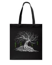 I love tree Tote Bag back