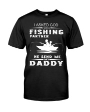Fishing - Father and Son - Father's Day Gift Classic T-Shirt thumbnail