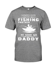 Fishing - Father and Son - Father's Day Gift Premium Fit Mens Tee front