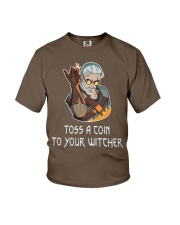 Toss  A Coin To Your Witcher Youth T-Shirt thumbnail