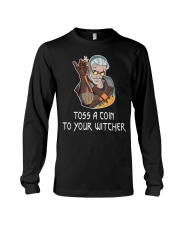 Toss  A Coin To Your Witcher Long Sleeve Tee thumbnail