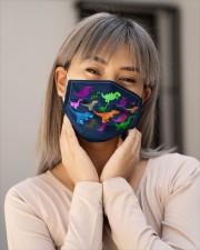 dinosaurs masks Cloth face mask aos-face-mask-lifestyle-17