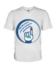 Diabetes Awareness Month T-Shirt2019 V-Neck T-Shirt thumbnail