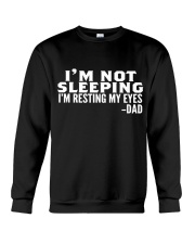 i'm not sleeping i'm resting my eyes dad Crewneck Sweatshirt thumbnail