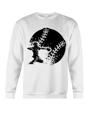 Best Baseball Lovers Gift Crewneck Sweatshirt thumbnail