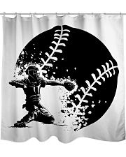 Best Baseball Lovers Gift Shower Curtain front