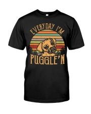 Every Day I'm Puggle'n T Shirt Premium Fit Mens Tee thumbnail